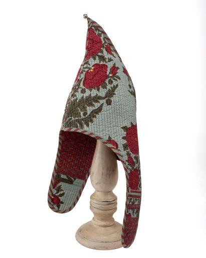 Lama Hat (Blue Gud Pavot/ Red Lips) (6-8 Years)