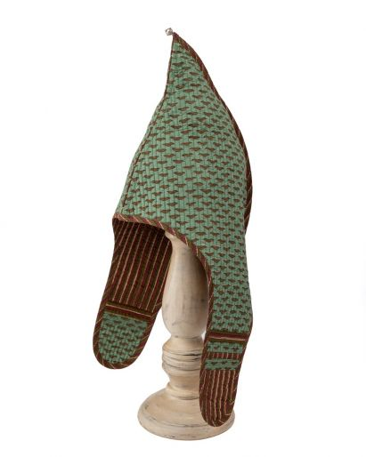 Lama Hat ( Green Lips/ Maroon Chutni) ( 6-8 Years)