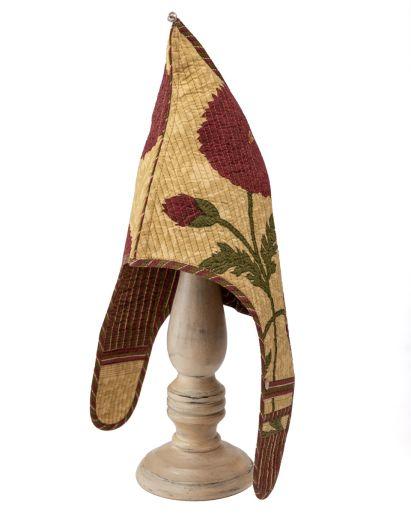 Lama Hat (Golcunda Poppy / Green Chutni ) ( 6 -8 ) Years