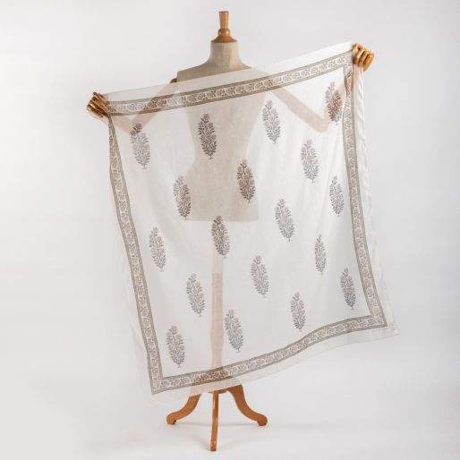 Chanderi scarf-110x110