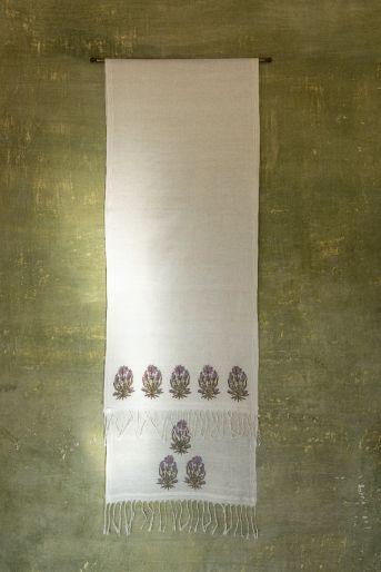 khadi printed scarf-small