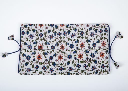 Kim pouch small (Green - Blue Amapola Jal)