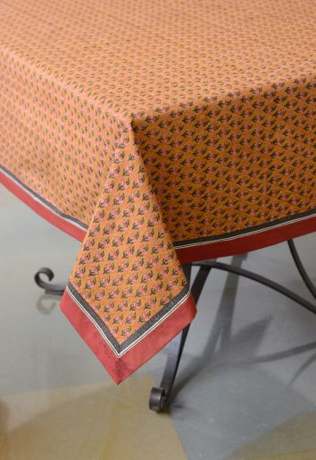 YELLOW ALICE TABLECLOTH