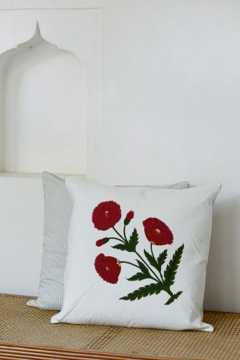 PIQUE CUSHION COVER