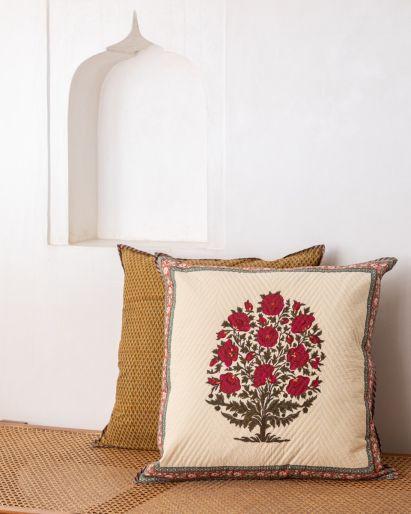 Pique Cushion Cover  65 x 65 Cms.