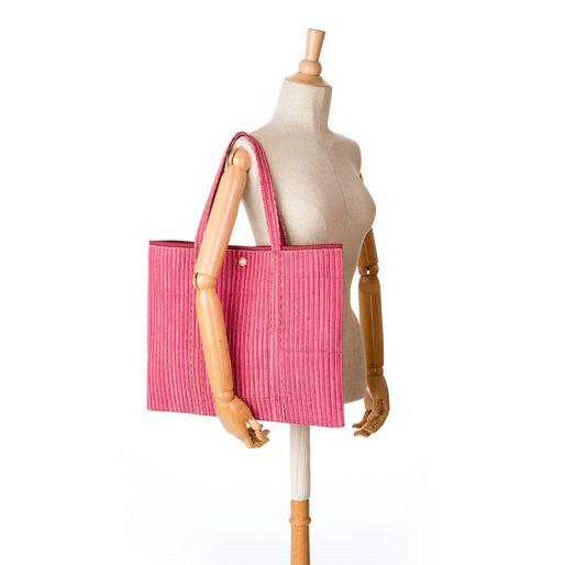 Narad Ka Bag (Fine Stripes Pink)