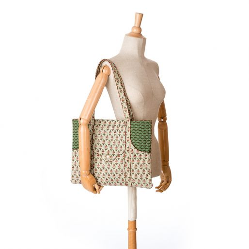 Laptop Bag (Alice Buti On Sage)