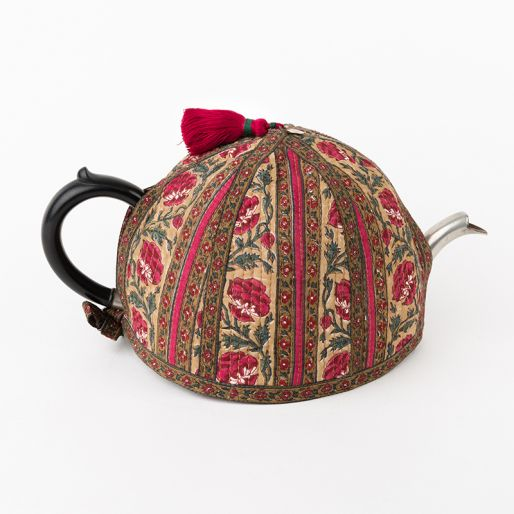 Tea Cozy Ryu (Pink Posht Rose Stripes)