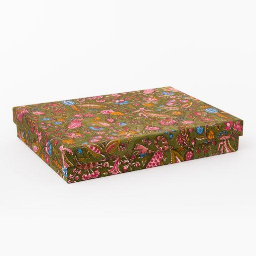Box Medium (Jungli On Bronze)