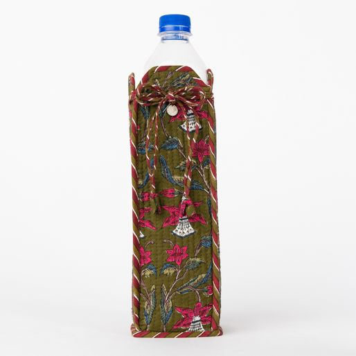 Bottle Cover (Tobacco Daffodil Jaal)