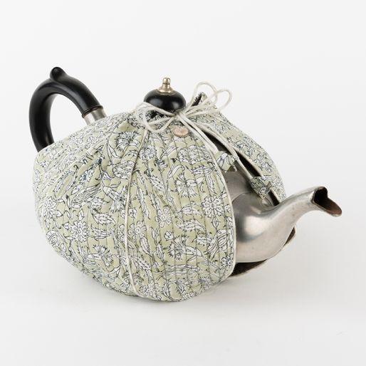 Tea Cozy Edo (Turkish Jaal On Grey)